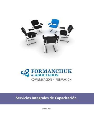 Servicios Integrales de Capacitación - Formanchuk & Asociados