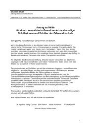 Antragsformular ab 1.7. 2013 - Stiftung