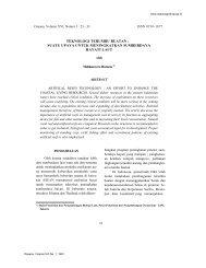 teknologi terumbu buatan - Pusat Penelitian Oseanografi-LIPI