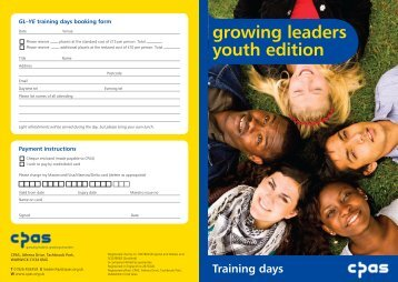 growing leaders youth edition