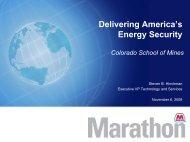 View his PowerPoint presentation. - Mines Magazine - Colorado ...