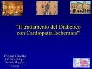 Il trattamento del diabetico con cardiopatia ischemica - Anmco