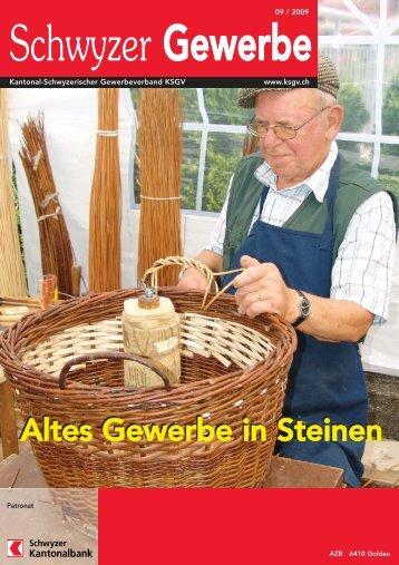 Altes Gewerbe in Steinen - KMU Frauen