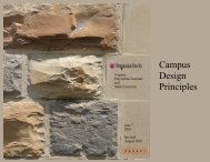 Campus Design Principles - Facilities Services - Virginia Tech