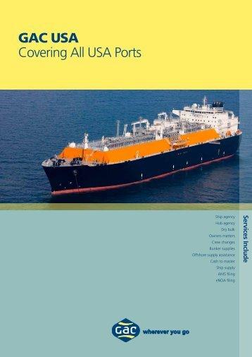 GAC USA Covering All USA Ports