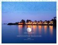 ENCOUNTER PARADISE... - Koro Sun Resort