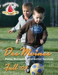 Fall Brochure - City of Des Moines Outlook Web Access