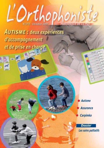 Téléchargez les articles - Autisme France
