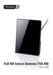Full HD Indoor Antenna TVA 400