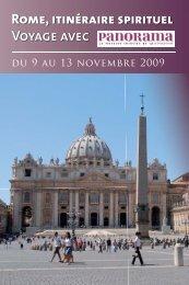 Rome, itinéraire spirituel Voyage avec - Terre Entiere