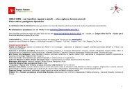 Programma - Comune di Firenze