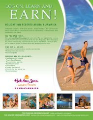 Holiday Inn Resorts Aruba and Jamaica - US Airways Vacations