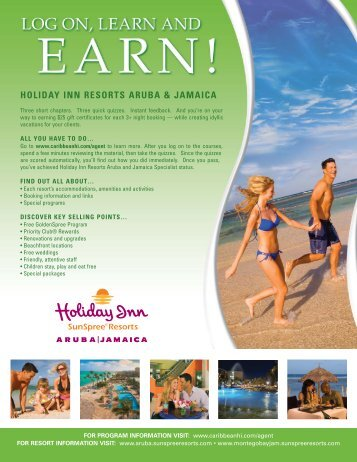 Holiday Inn Resorts Aruba and Jamaica - US Airways Vacations