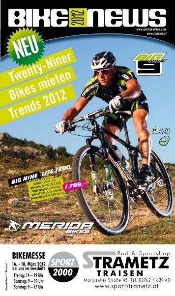 BIKE NEWS 2012 - Sport Strametz