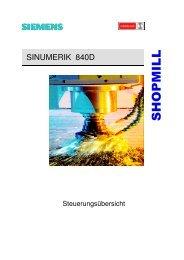 sinumerik 840d shopmill - Hedelius Maschinenfabrik GmbH