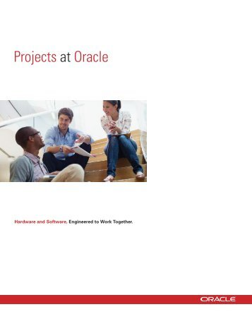 Projects at Oracle 2011-2012