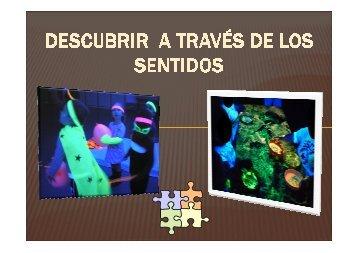 DESCUBRIR A TRAVÉS DE LOS SENTIDOS