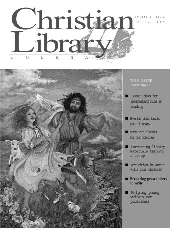 Show your CLJ to a friend. - Christian Library Journal