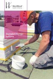 Broschüre Dachabdichtungssysteme - WestWood Kunststofftechnik ...
