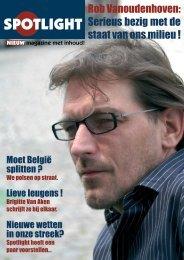 Rob Vanoudenhoven: Serieus bezig met de staat ... - Nieuw magazine
