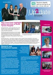 Issue 38 - May 2011 - Southern Health and Social Care Trust