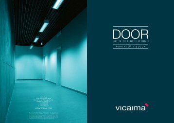 Door Kit and Set Solutions - Vicaima
