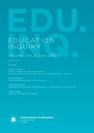 Spaces of social inclusion and exclusion. A spatial approach to ...