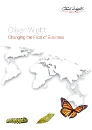 Global Brochure - Oliver Wight Americas