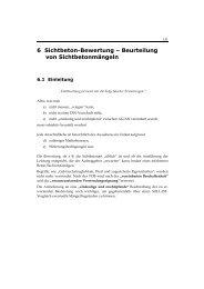 6 Sichtbeton-Bewertung – Beurteilung von ... - Springer Vieweg