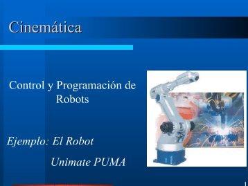 Ejemplo: Cinemática del Robot PUMA