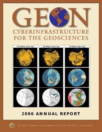 2006 ANNUAL REPORT - Geon