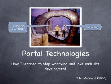 Portal Technologies - Geon