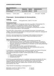 Kommunedelplan for Kommunehelse Vedlegg: Saksopplysninger