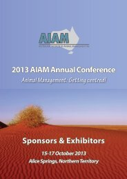 2013 AIAM Sponsorship & Exhibition Brochure - Australian Institute ...