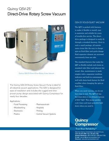 QSV vacuum - CH Reed Inc.