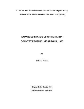 nicaragua - Prolades.com