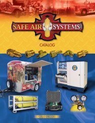 The catalog - Safe Air Systems