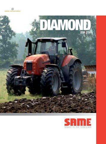 Trattori Same Diamond 230-270
