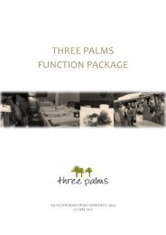 Download Function Package - Three Palms