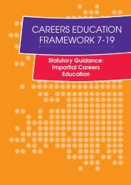 Careers Education Framework 7-19