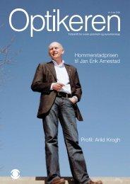 Hommerstadprisen til Jan Erik Arnestad - Norges Optikerforbund
