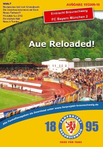 Heft 15: FC Bayern München II - FanPresse Braunschweig