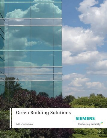 Green Building Solutions - Siemens Industry, Inc.