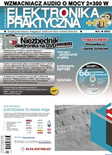 Elektronika Praktyczna, maj 2012 - UlubionyKiosk
