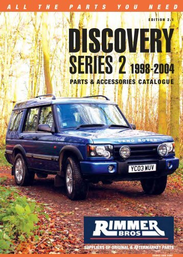 Land Rover Discovery Series 2 - Who-sells-it.com