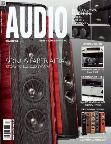 Audio, październik 2013 - UlubionyKiosk