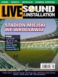Live Sound & Installation 11/2011 - UlubionyKiosk