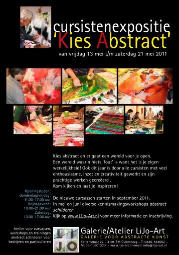 'Kies Abstract' - LiJo-Art
