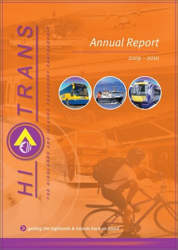 Annual Report 2009 10 - Hitrans