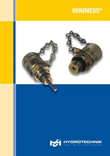 Minimess ® catalog - Hydrotechnik